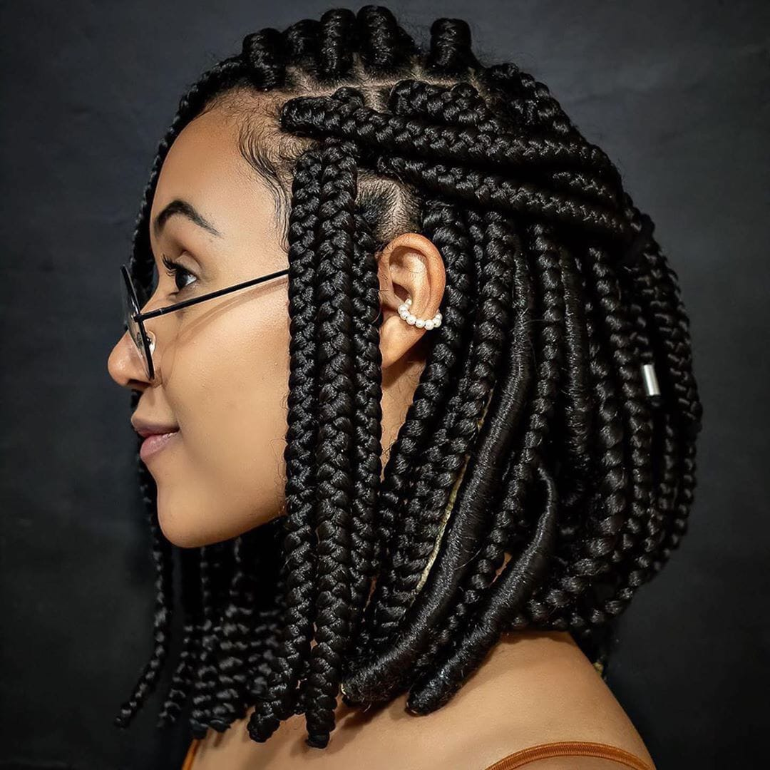 92+ African Braids Hairstyles 2020 Black Female | JwanDoun ...