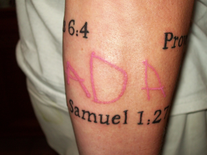 bf092a86d Anna Kids Name Forearm Tattoo Source · The Homeschool Apologist The Kids  Think It s Cool Dad Has A Tattoo