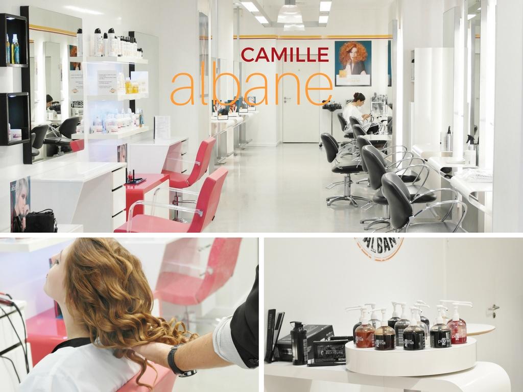 Mon experience en salon camille albane sugar town for Salon de coiffure camille albane