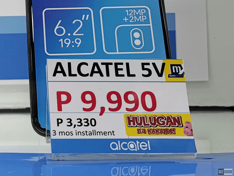 Alcatel 5V at MemoXpress