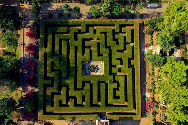 Taman Labirin Malang Jawa Timur