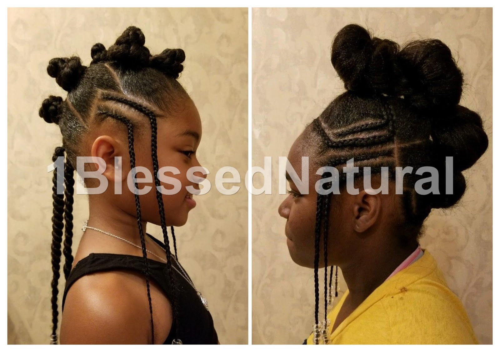 1bn Kids Little Girl Natural Hairstyles Part 1