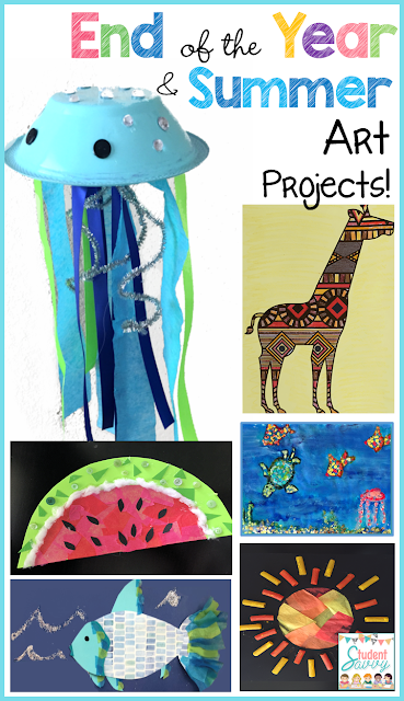 End of the Year Art & Summer Projects! – Student Savvy