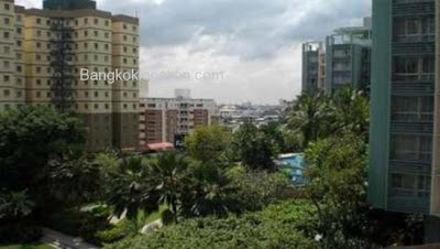Bangkok Garden Condo for Rent - 2 Bed 2 Bath Garden View