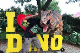 Bertualang di Hutan Dinosaurus Wahana Legenda Keong Mas TMII 2019