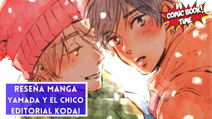 """Reseña manga: """"Yamada y el chico"""" una obra de Mita Ori   El segundo BL editado por Editorial Kodai"""
