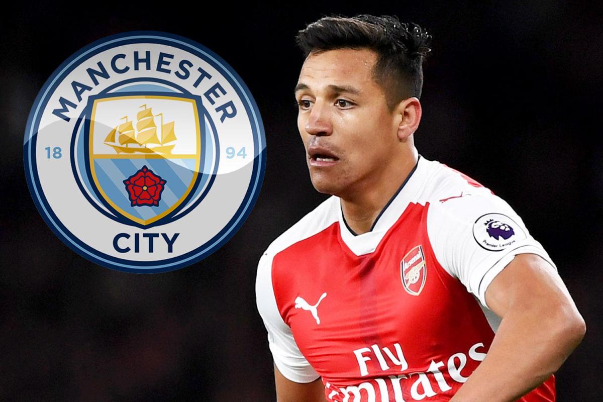 Manchester City set to sign Alexis Sanchez from Arsenal for £60million