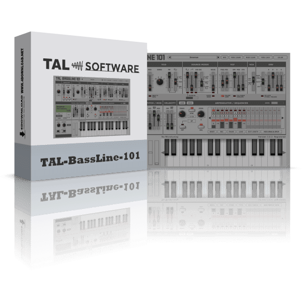 TAL Software - TAL-BassLine-101 v3.3.0 Full version