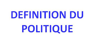 DÉFINITION DU POLITIQUE