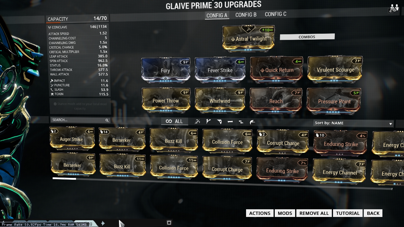 Warframe Chronicles: [Builds] Trinity Bless and EV- Raid ...