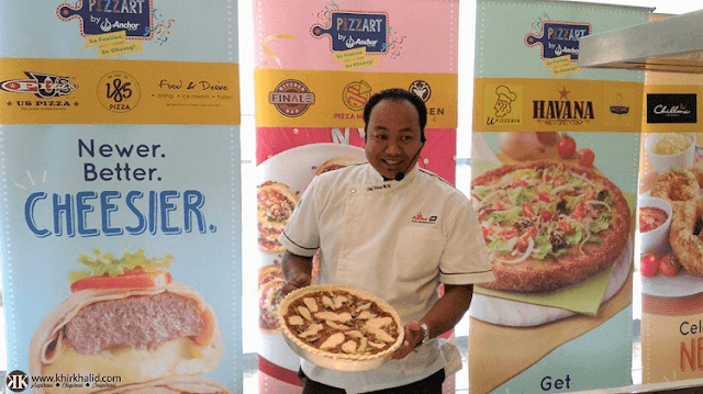 Chef Firuz, PizzArt (Phase II), Anchor Food Professionals,