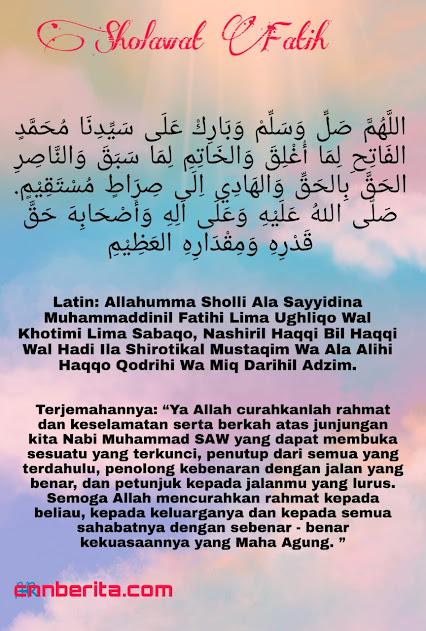 Sholawat Fatih untuk melunasi hutang