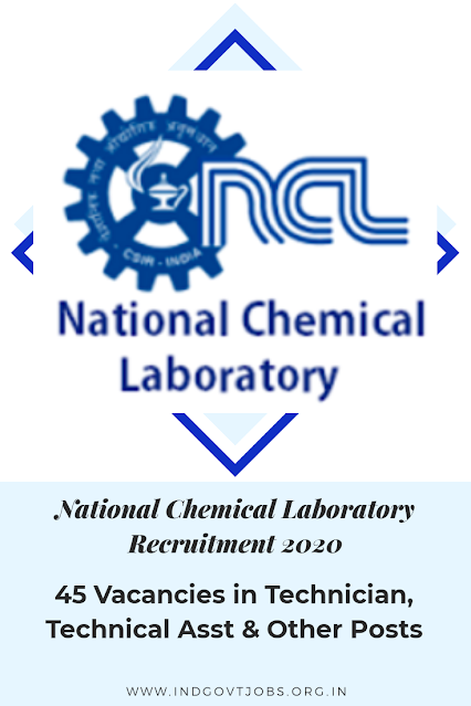 National Chemical Labortary
