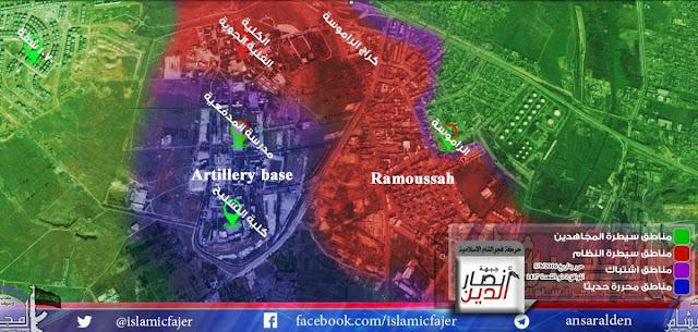 mujahidin kuasai akademi artileri aleppo jumat 5 agusuts 2016