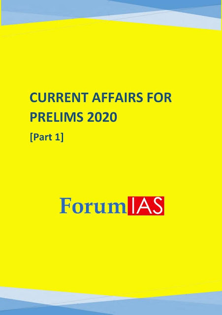 IAS Current Affairs Prelims 2020: For IAS Exams PDF