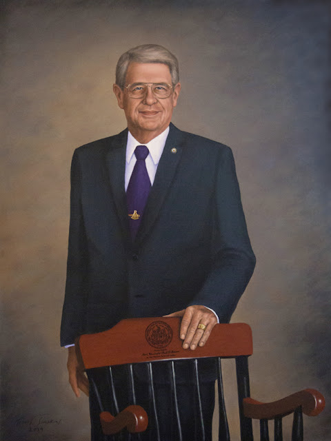 M.W. Paul F. Gleason. Past Grand Master. Grand Lodge of Massachusetts. by Travis Simpkins