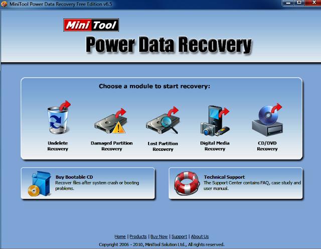 Data recovery aplikasi