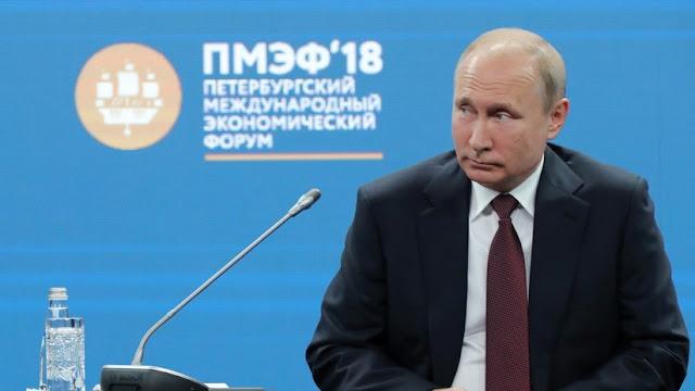 """Putin advierte sobre la amenaza de una crisis económica """"que el mundo aún no ha visto"""""""