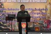 Pangdam IV Diponegoro: Jika Mampu Hidup Dalam Kebhinnekaan Niscaya Indonesia Kokoh
