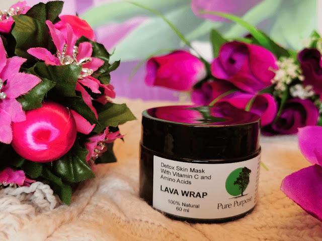 Lava wrap - detoksykująca maska