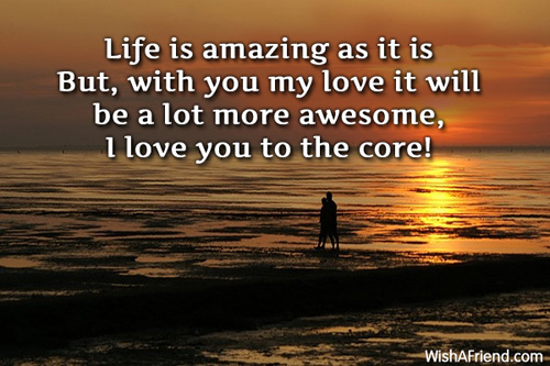 Cute Falling In Love Quote For Boyfriend And