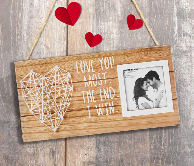 photo picture frame gift 10 wedding anniversary
