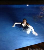 Jeg prøver badebassenget i Spania!