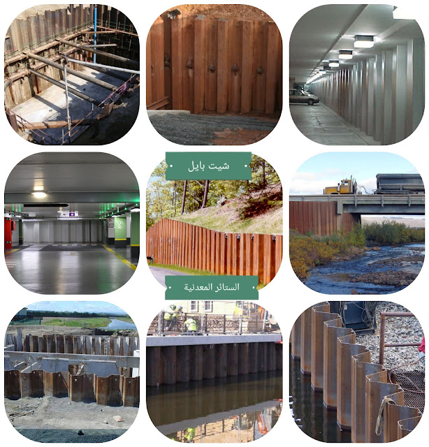 جدران الستائر المعدنية (شيت بايل) واستخداماتها وتصميمها