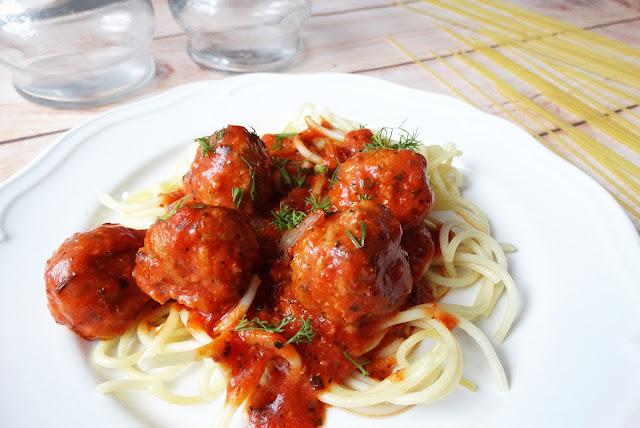 spaghetti dla dzieci