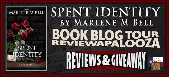 Spent Identity book blog tour promotion banner