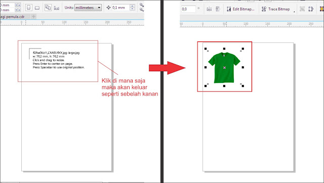 Cara Merubah Warna Objeck Bitmap Pada CorelDRAW
