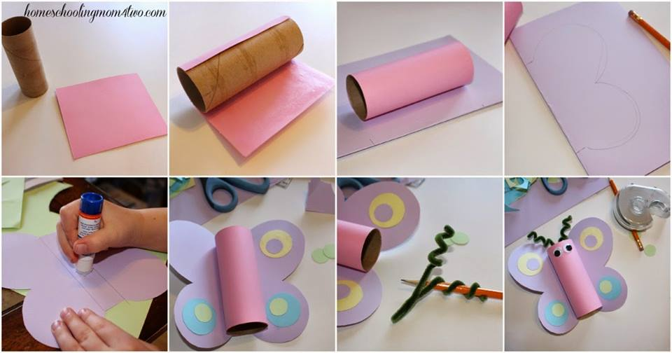 Amazing Butterfuly Craft Step By Tutorials Crazzy