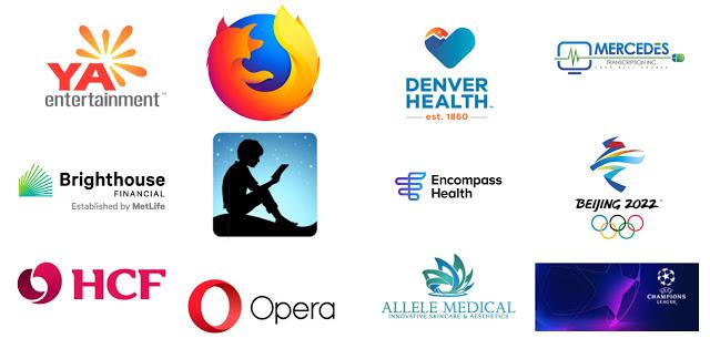 ví dụ về logo 3D