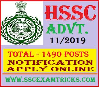 HSSC Assistant Lineman Recruitment
