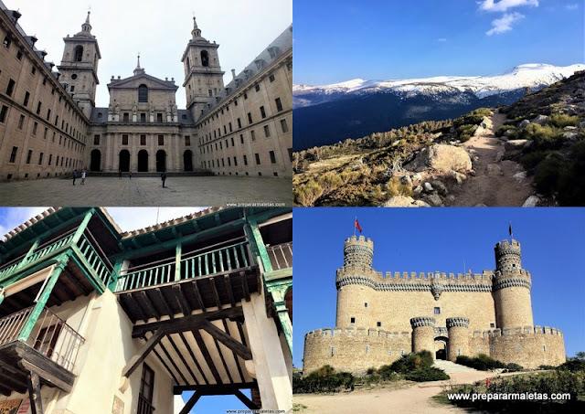 lista de excursiones sin salir de la Comunidad de Madrid