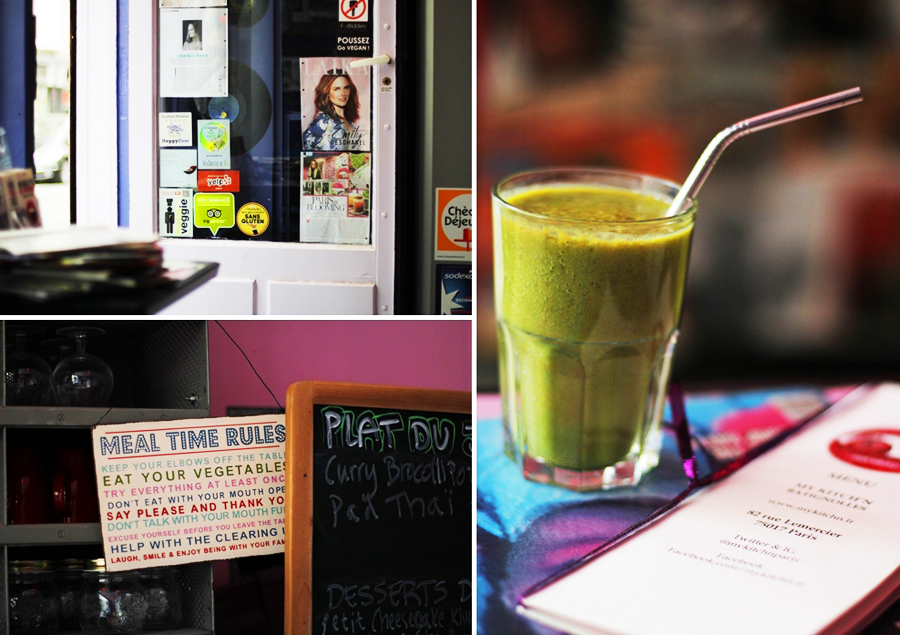 green smoothie restaurant review paris vegan