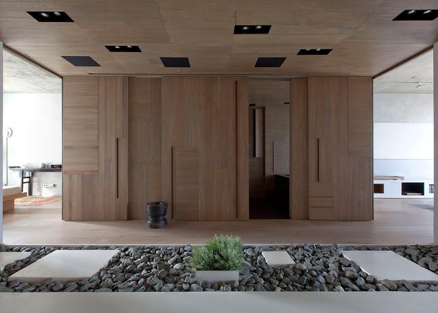 Appartamento a mosca in stile giapponese by m17 studio for Abitazioni giapponesi