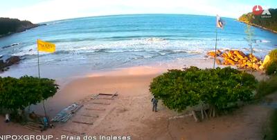 câmeras ao vivo da praia dos ingleses florianópolis
