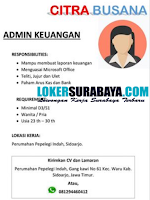 Open Recruitment at Citra Busana Sidoarjo September 2020