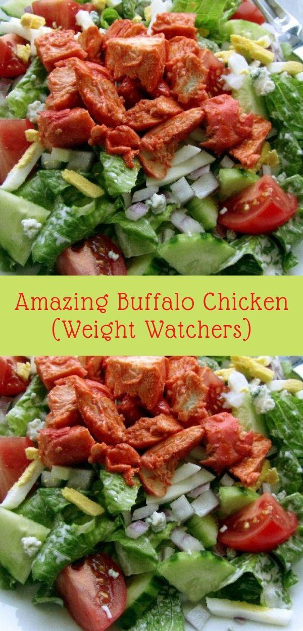 Amazing Buffalo Chicken (Weight Watchers)