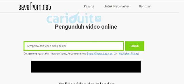 Cara singkat Download Video Youtube tanpa Aplikasi