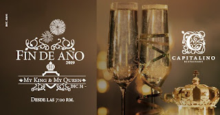 Fiesta de AÑO Nuevo MY KING & MY QUEEN en Capitalino