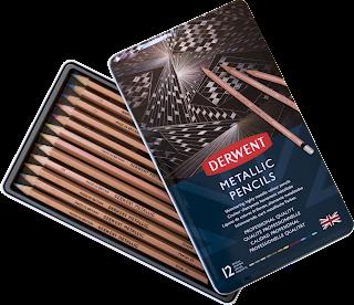 Kredki Derwent Metallic