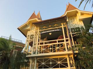 Skipper Canteen Entrance Magic Kingdom Disney World Dusk