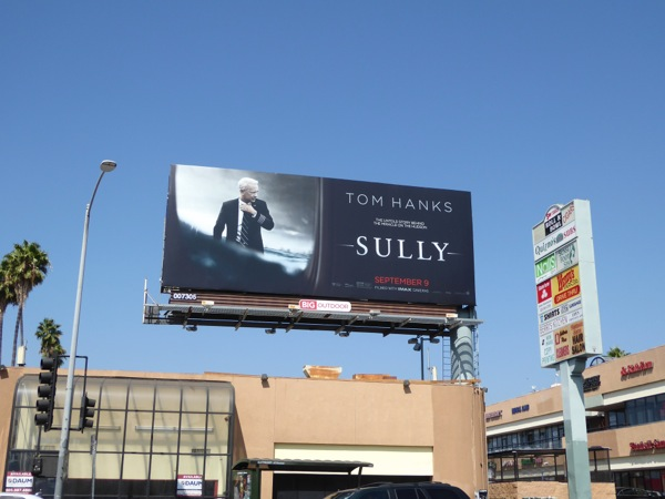 Sully film billboard