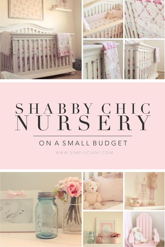 Shabby Chic Nursery On A Small Budget