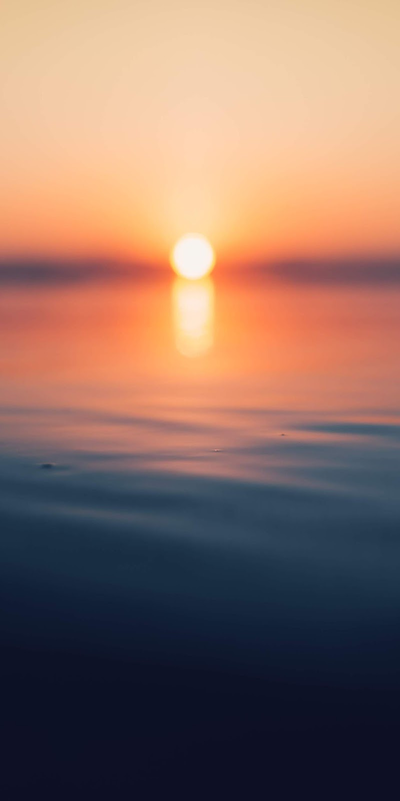 Blur Sunset