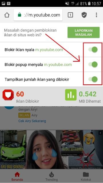 Temukan Cara Menonaktifkan Iklan Youtube Terbaru