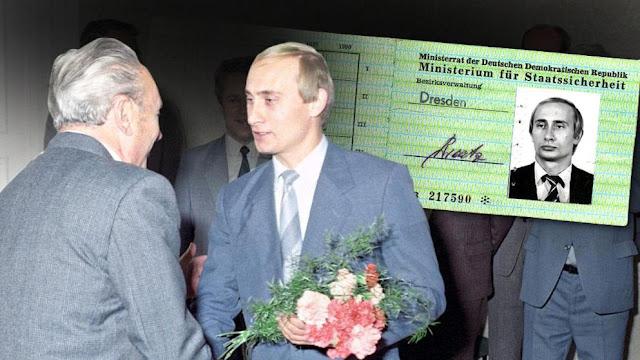 Vladamir Putin's KGB ID Revealed