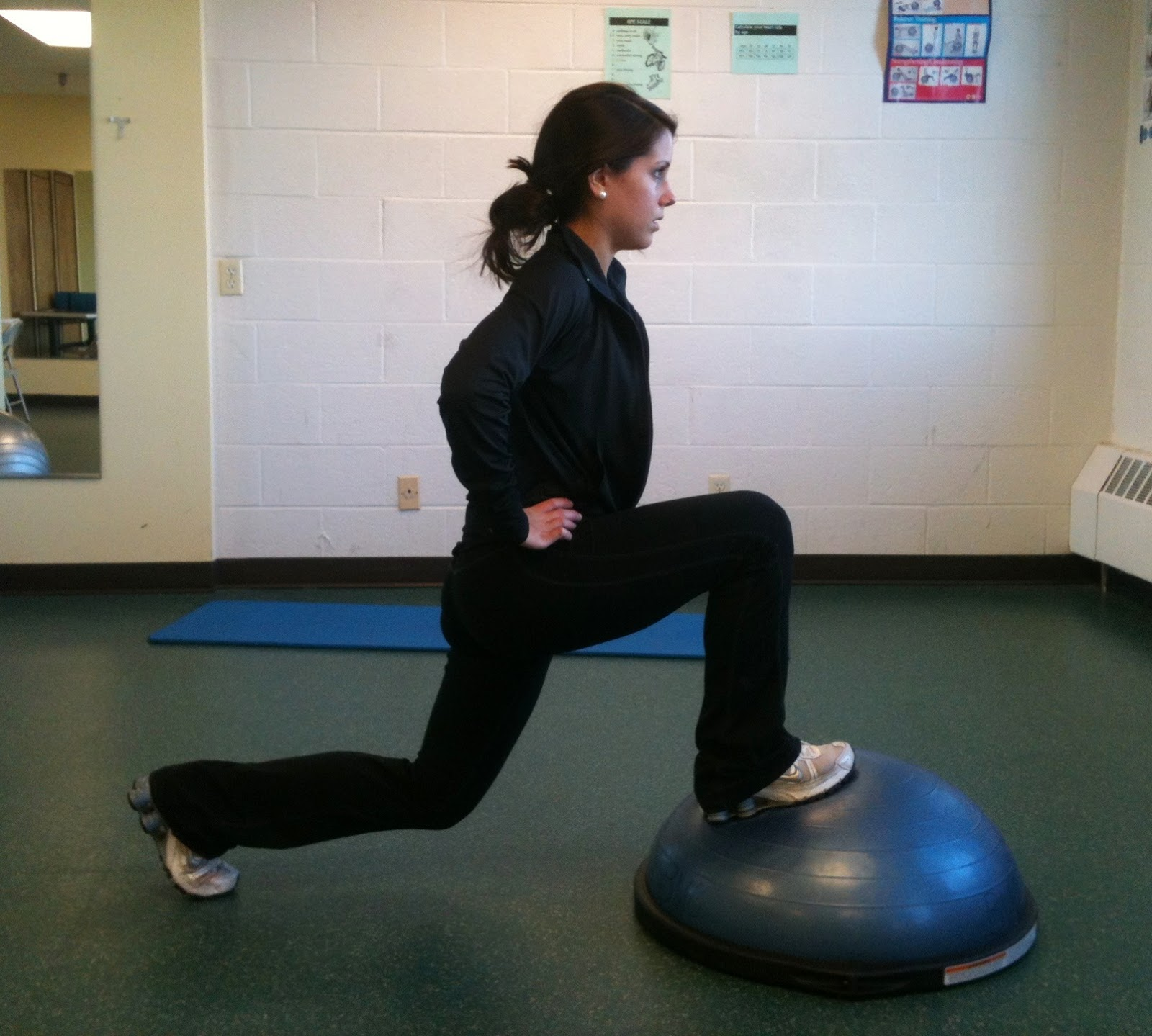 Bosu Ball Side Jumps: Fitness Cookie.: BOSU Workout